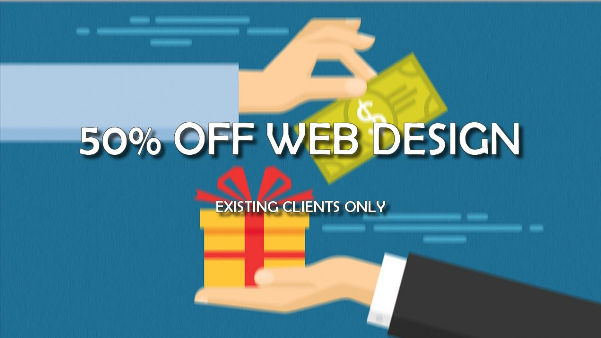 half off web design
