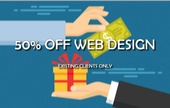 half off web design